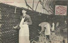 CPA - 51 Travail du vin de Champagne - L'Entreilage