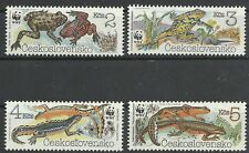 Kucera/WWF 1989-anfibios MiNr 3007/10 **