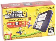 Videoconsola Nintendo 2DS azul y negro Nsmb 2