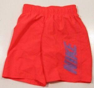Nike Boys Neon Orange Energy Volley Swim Trunks