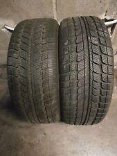 P33/ 2 pneus hivers en 205/55/15 88H reste 2x + 7.5mm