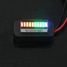 3-22V Adjustable Voltmeter Multicolor Led  Display Panel Lithium Battery