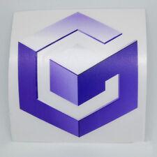 Nintendo GameCube Logo Sticker Vinyl Decal - NO Video Game Console DS Wii Switch