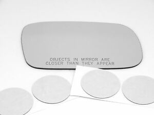 Fits 00-04 Legacy Right Convex Mirror Glass Lens W/ Silicone