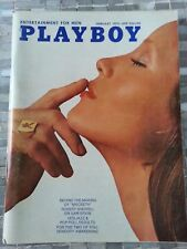 Playboy magazine February 1972 P.J. Lansing Angel Tompkins VERY GOOD
