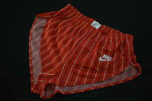 Nike Shorts Short kurze Hose Pant Vintage 80s 80er Sprinter UK Rot Red S NEU NEW