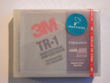 3M Travan TR1/TR-1 Mini Data Tape/Cartridge 400/800MB Preformatted NEW