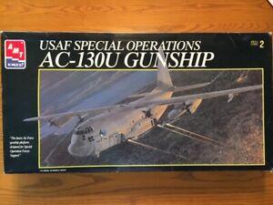 AMT/ERTL 1/72 AC-130U Hercules Gunship (8326)