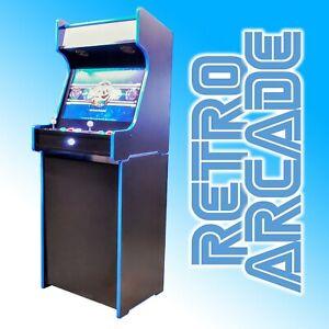 "Retro Pie Arcade Machine 2 Player Modular Cabinet 24"" LCD Speakers Pi Bartop"