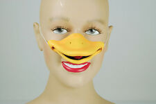 Yellow Duck Nose Beak Farm Animal Bird Accessory Pantomime Fancy Dress