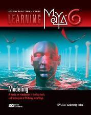 Learning Maya 6 : Modeling by ALIAS Staff (2004, Paperback)