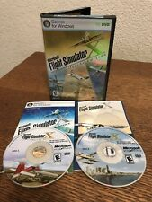 PC Microsoft Flight Simulator X Deluxe Edition 2 Disc Manual CD Key Inside