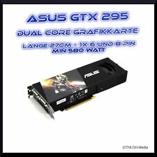 ASUS NVIDIA GeForce GTX 295 (1792 MB) DUAL CORE GRAFIKKARTE - GRAPHIC CARD