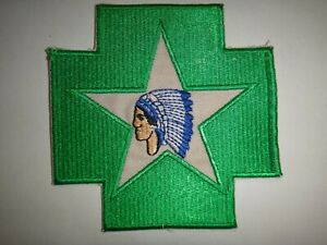 US Army Patch 2nd Division 2nd SANITARY TRAIN