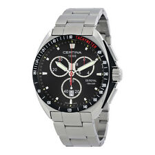 Certina DS Royal Chronograph  Black Dial Mens Watch C0104171105101