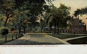 Dodge & Murry Hall, Princeton University, Princeton, N.J., Very Early Postcard