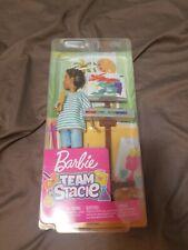 Barbie Team Stacie Friend of Stacie Doll Art Class Playset NEW