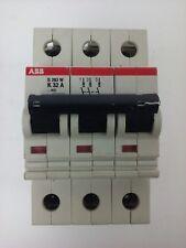 ABB S283W, CIRCUIT BREAKER, K32A, 3POLE, 277/480VAC, MAX 254/440, VDE0660, NEW