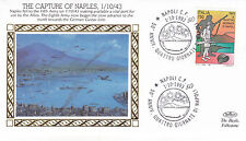 1993 WW2 50th ANNIVERSARY THE CAPTURE OF NAPLES BENHAM SILK COVER SHS