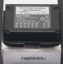 NICAD LADY FNB-80LI 7.4V 1500MA LI-ON BATTERY PACK FOR YAESU VX-6R VX-7R