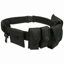 Viper Security Police Guard Tactical Belt System With Pouches Adjustable Size