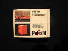POLISTIL EVOLUTION TRASFORMATORE 4,5V - COD.720DN X PISTA ELETTRICA SLOT CAR