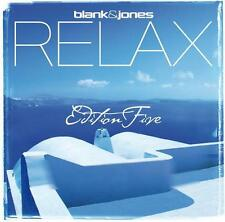 BLANK & JONES = Relax Five 5 = 2CD = TRANCE DOWNTEMPO AMBIENT GROOVES !!