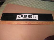 Smirnoff Bar Mat Runner NOS Barware Collectible Mancave Free USA Shipping