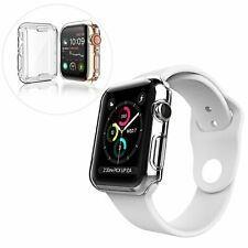 Tpu gel case for apple watch touch sensitive screen protection bor curved