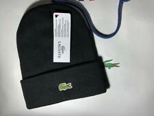 Lacoste - bonnet à Logo - noir , unisexe, taille unique