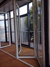 BIFOLD DOOR   ALUMINIUM DOUBLE GLAZED 2110H x 4810W