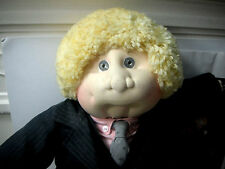 HAND SIGNED  Xavier Roberts 1986 Collector's Ed CORPORATE KID soft sculpture CPK