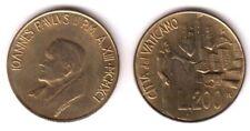 1991 Vaticano Lire 200 Giovanni Paolo II Anno XIII Fior di Conio Unc