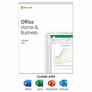 Microsoft T5D-03341 Office Home And Business 2019 Fpp (t5d03341)