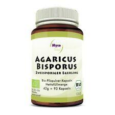 Mycovital Agaricus Bisporus Bio-Vitalpilzpulver-93 Kapseln Made in Germany