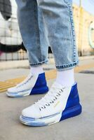 Chekich CH263 Blue-White High-top Sneakers | Turnschuhe | Sportschuhe EU 36-45