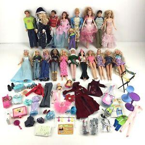 Vintage 1990s Barbie Doll & Accessory Lot - Mattel - Nutcracker, Krissy & more
