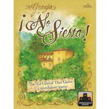 Stronghold Games Stg00004 La Granja The Dice Game No Siesta Board