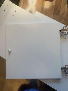 Ikea Expedit Kallax  4 Tueren Weiss Matt