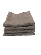 Threshold Bath Washcloth Set of 4 Cloak Gray NWT