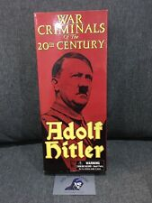 "War Criminals of the 20th Century - WW2 Adolf Hitler 12"" Boxed Khaki Uniform"