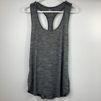 Zella Racerback Tank Top Size 2X Black Gray Stretch Athletic Yoga Workout NEW Z1