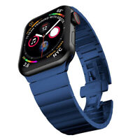 Premium Stainless Steel Band for Apple Watch Series 1 2 3 4 5 6 38/40mm 42/44mm
