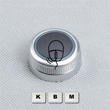 Neu Chrome Drehknopf Multimediasystem MMI für AUDI A6 S6 C6 Allroad A8 D3 RS6