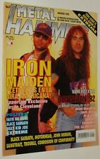 METAL HAMMER #  57  IRON MAIDEN SLAYER SKID ROW WASP BLACK SABBATH MOTORHEAD UFO