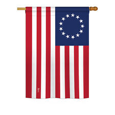 Betsy Ross - Impressions Decorative House Flag - H140704-Bo