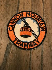 Cannon Mountain Tramway patch New Hampshire