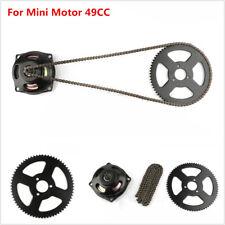 Mini Moto Drive T8F 108 links loops Chain w/ Gear Box Rear Sprocket 6T Fit 49cc