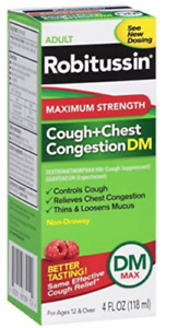 Robitussin Maximum Strength Cough & Chest Congestion DM MAX Non-Drowsy 4 oz.
