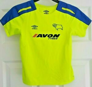 Umbro - Derby County FC - Football/Soccer Shirt/Jersey - Age 6/7yrs